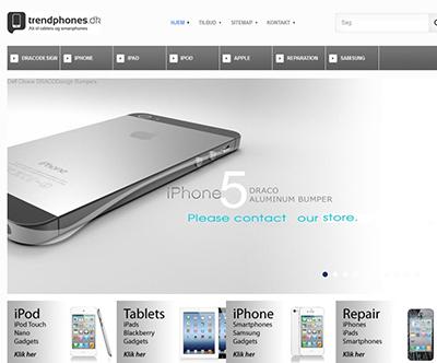 Tilbehør og reparation af iPhones og iPad