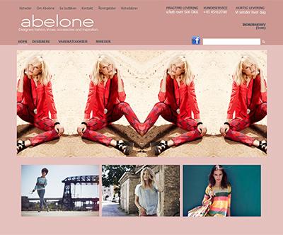 Tøjbutikken Abelone-holte.dk